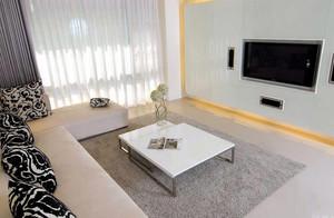 大户型自然风格地毯效果图片