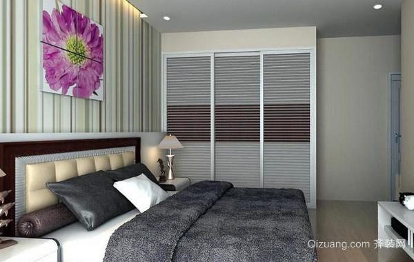2016年现代简约风格浅色系房间装修效果图