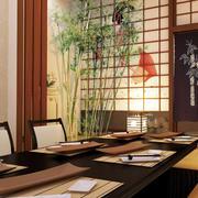 日式餐厅包间装饰设计