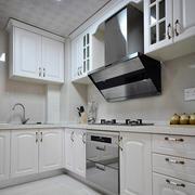 欧式简约风格厨房石膏板吊顶装饰