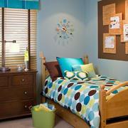 40平米小户型美式简约风格卧室装修效果图