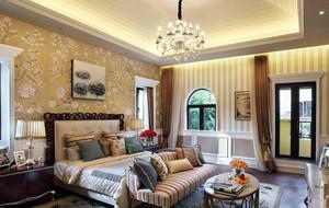 欧式奢华豪宅卧室吊顶装饰