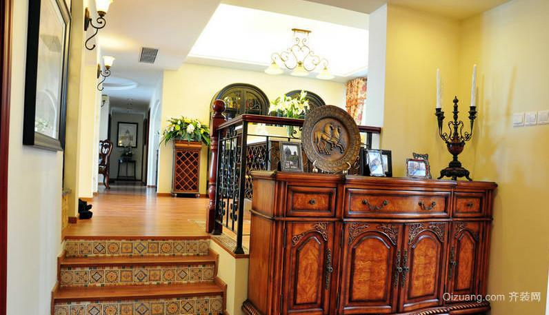 都市153平米客厅美式风格装修样板房 齐装网装修效果图
