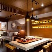 日式餐厅创意灯饰装饰