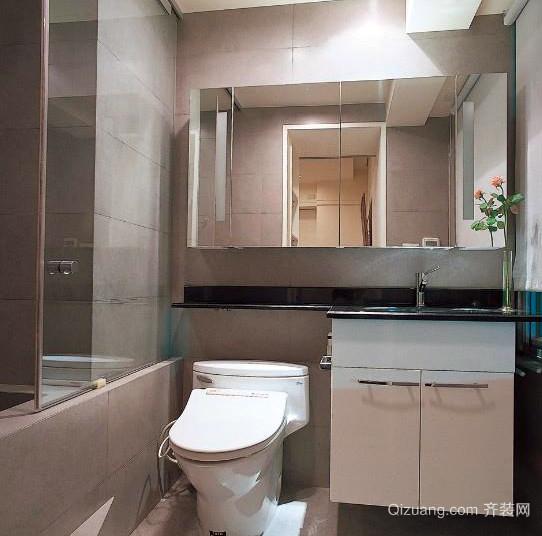 三居室都市风格洗手间装修效果图