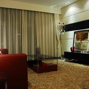 别墅时尚风格地毯效果图片