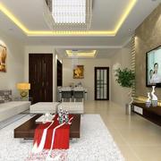 大户型时尚风格客厅装修效果图