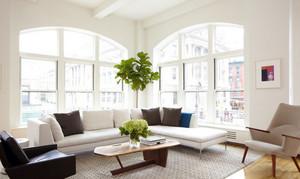 单身公寓自然风格客厅装修效果图