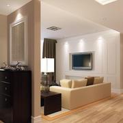 复式楼简约风格客厅装修效果图