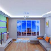 别墅精致风格客厅装修效果图