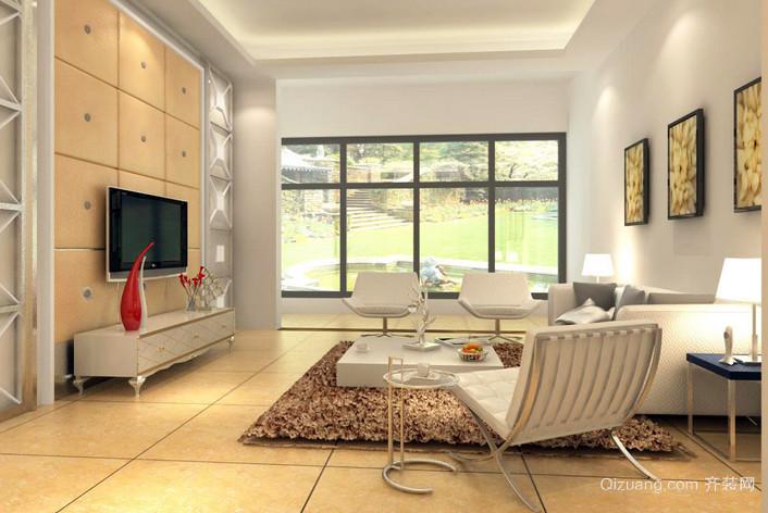 别墅梦幻系列客厅装修效果图