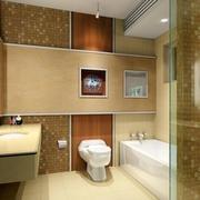 单身公寓时尚风格卫生间装修效果图