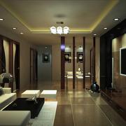 大户型简洁客厅装修效果图
