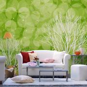 128平米欧式风格沙发背景墙效果图