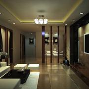 复式楼豪华型风格客厅装修效果图
