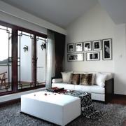 三居室自然风格室内装修效果图大全