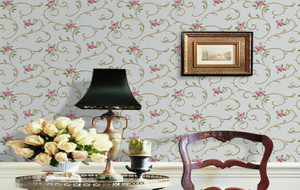 120平米色调鲜艳墙纸图片大全
