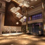 豪华型商务酒店装修效果图