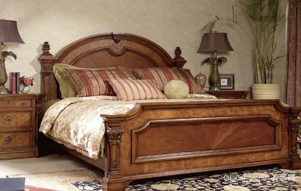 别墅精致美式实木家具效果图