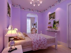 三居室简约风格儿童房设计装修效果图