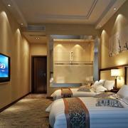 180平米商务酒店装修效果图