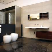 时尚风格浴室设计图片