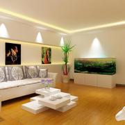 138平米时尚风格室内装修效果图大全