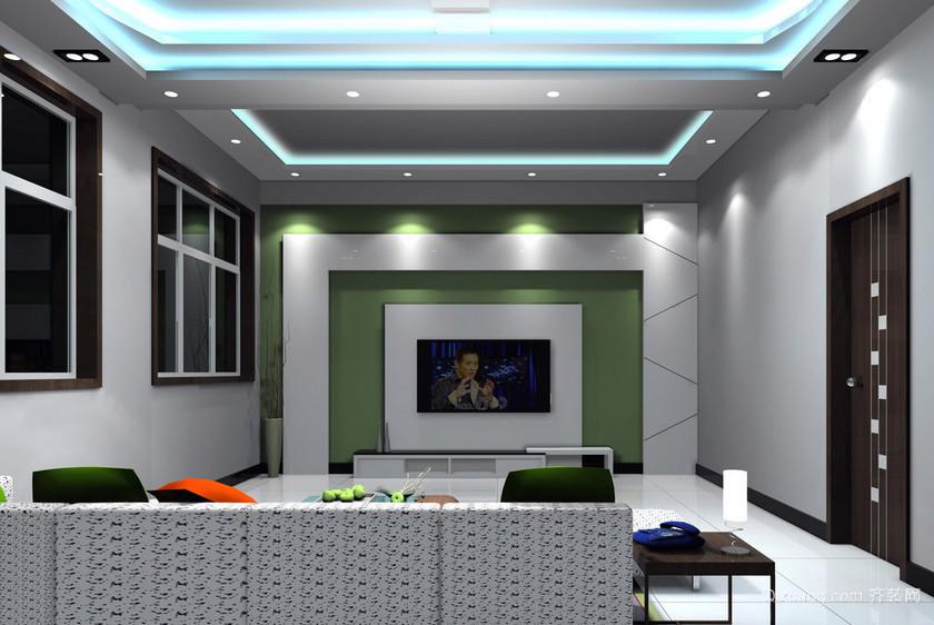 格局简单的室内装修效果图大全