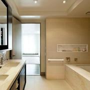 浴室背景墙设计图片
