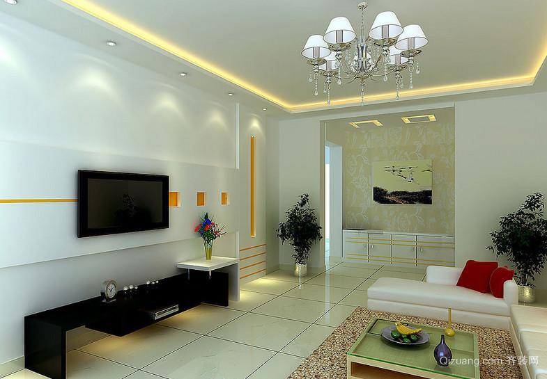 别墅简约风格室内装修效果图大全