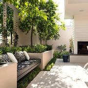 简约型庭院装修图片