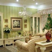 田园风格客厅设计大全