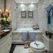 欧式风格小洋楼卫生间装修效果图