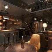 自然风格酒吧装修图片