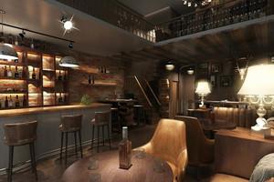 2016动感音乐酒吧设计效果图