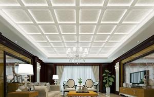 密集式客厅吊顶装饰