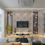 精致的电视背景墙造型图