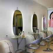 美发店背景墙效果图