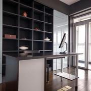 小户型现代简约风格家庭书房装饰