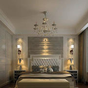 139平米时尚风格床头壁灯效果图片