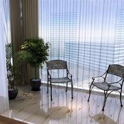 现代化阳台简约盆栽装饰