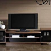 后现代风格深色系电视柜设计