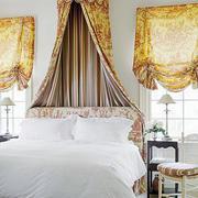美式风格卧室床饰装饰