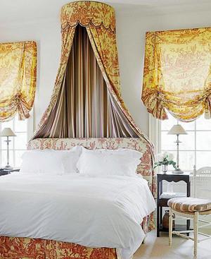 30平米小型美式乡村风格卧室装修效果图