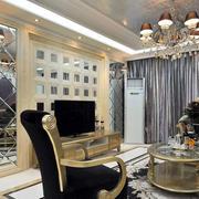 欧式奢华大气电视背景墙装饰