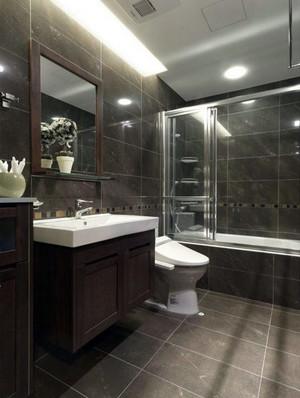 80平米现代简约风格家庭简单装修设计图