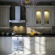 精致的厨房背景墙图