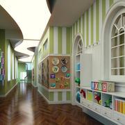 时尚风格幼儿园效果图