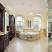 欧式风格卫生间浴室柜家具装修效果图