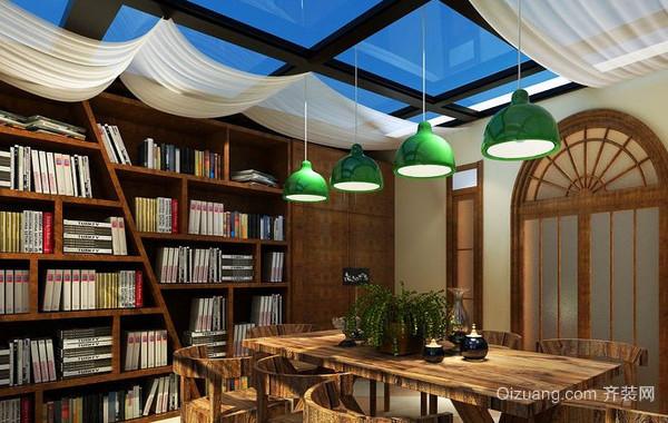 2016年各式各样创意书房装修效果图